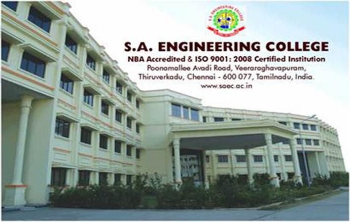 SA Engineering Job Circular November 2016.