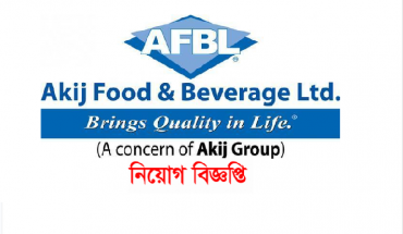 Akij Food & Beverage Ltd Job Circular December 2016.