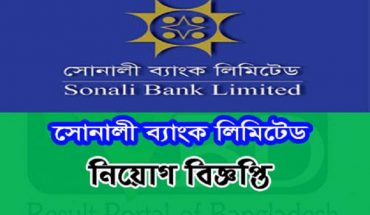 Sonali Bank Limited Job Circular December 2016