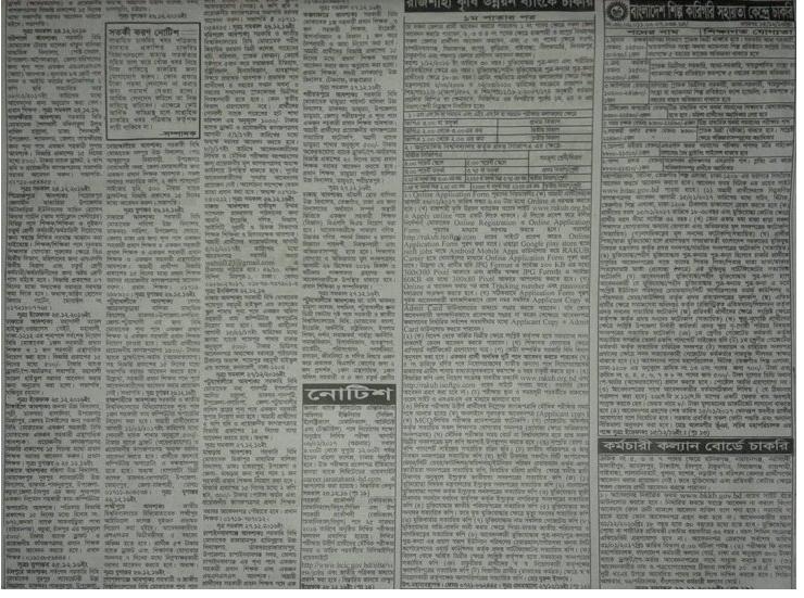 Weekly Newspaper All Jobs Circualr 20 December 2016