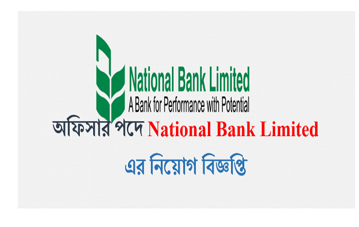 National Bank Limited Job Circular On January 2017