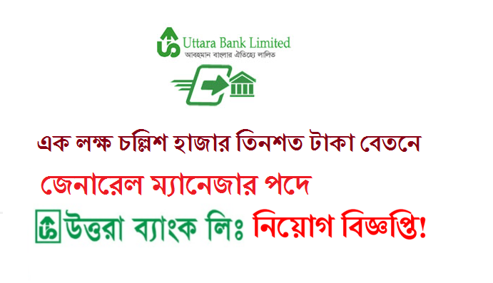 Uttara Bank Limited Job Circular News 2017