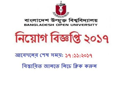 Bangladesh-open-university-jobs-circular-2017
