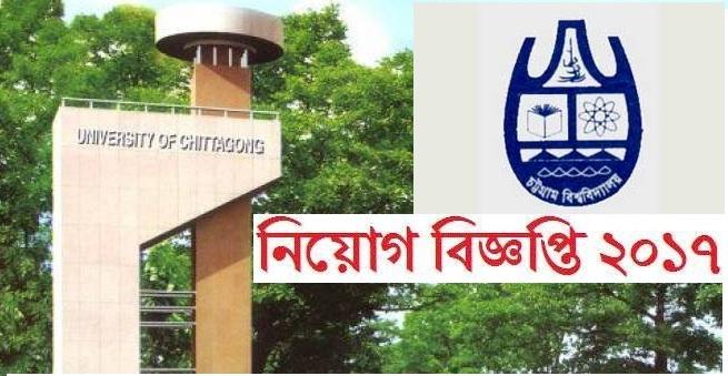University of Chittagong Job Circular 2017