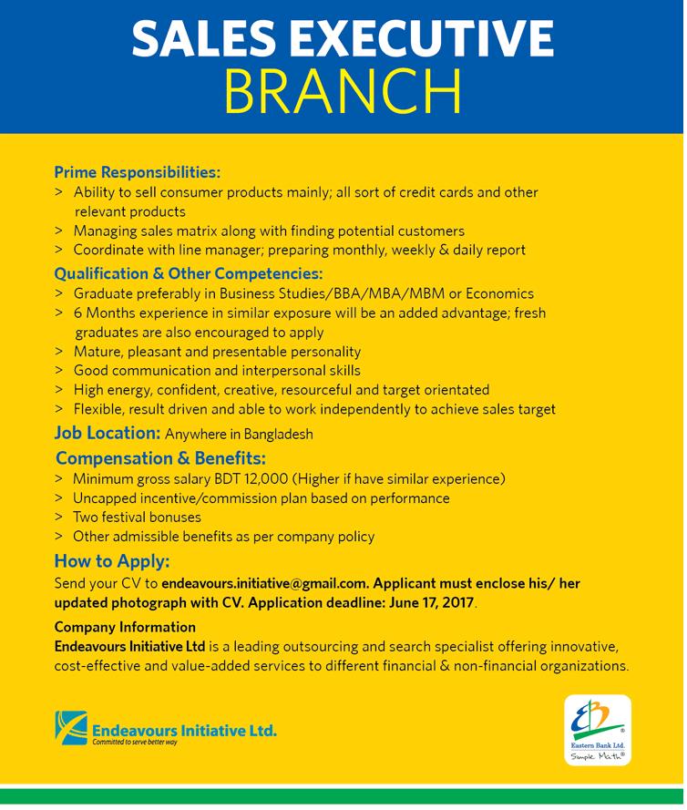 Eastern Bank Limited Job Circular 2017