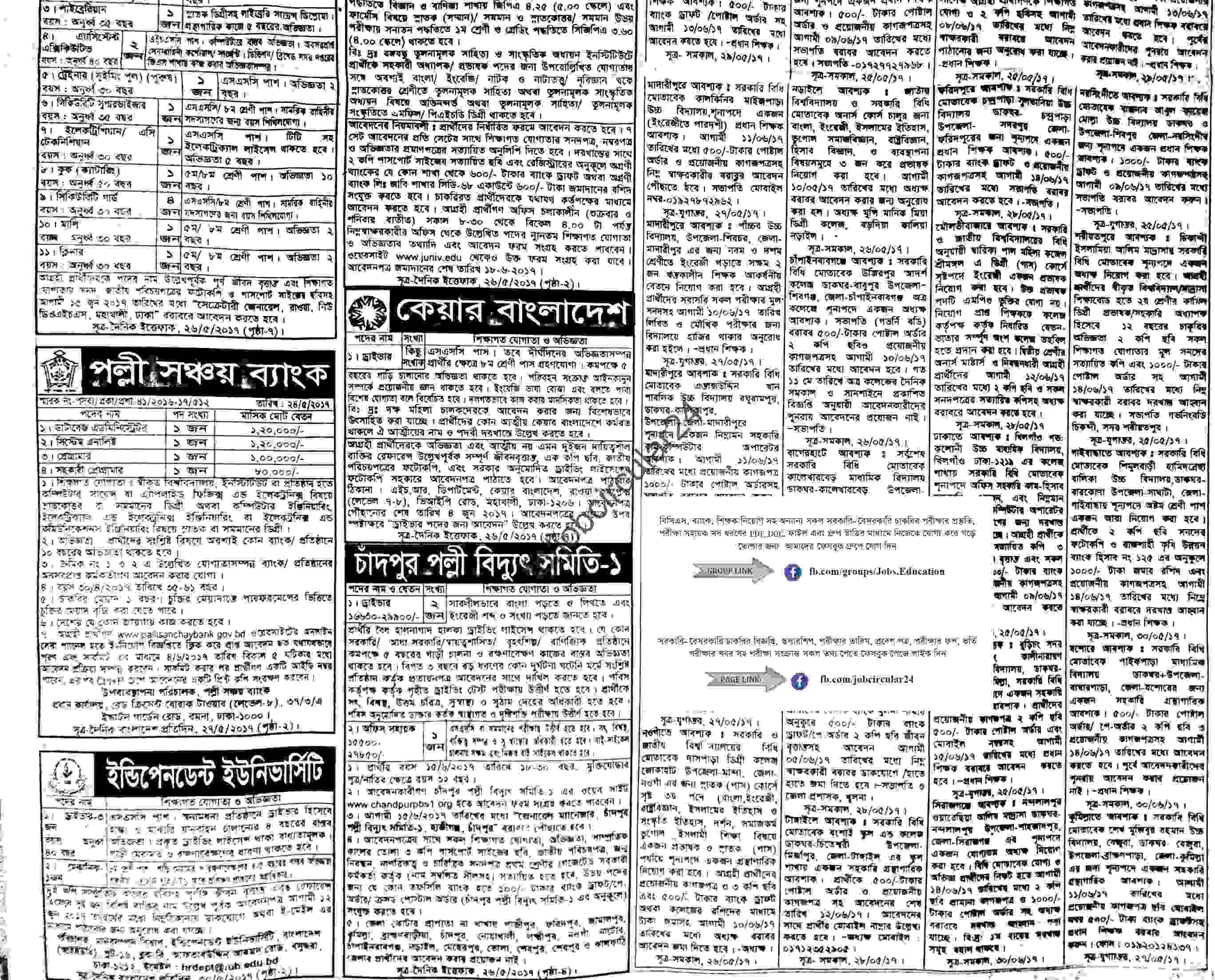 Weekly Job Newspaper 2 Jun 2017