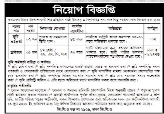 Gazi Group Job Circular 2018