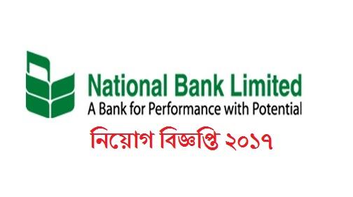 National Bank Limited Job Circular 2017