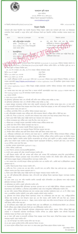 Bangladesh Krishi Bank Job Circular 2017