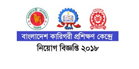 Bangladesh Technical Training Center (TTC) Job Circular 2018