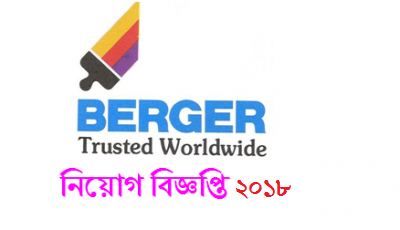 Berger Paints Bangladesh Limited Job Circular 2018
