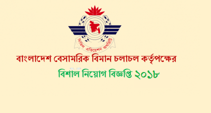 Civil Aviation Authority, Bangladesh Job Circular 2018