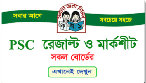 PSC and Ebtedayee Exam Result 2017- dpe.gov.bd
