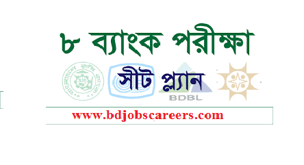 BSC 8 Bank SO Exam Seat plan 2018