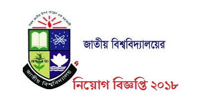 National University Jobs Circular 2018