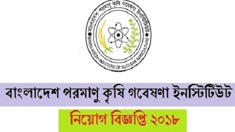Bangladesh Institute of Nuclear Agriculture Job Circular 2018