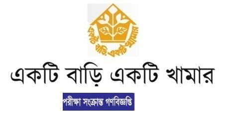 Ektee Bari Ektee Khamar EBEK Job Exam Schedule Notice 2018 www.ebek-rdcd.gov.bd