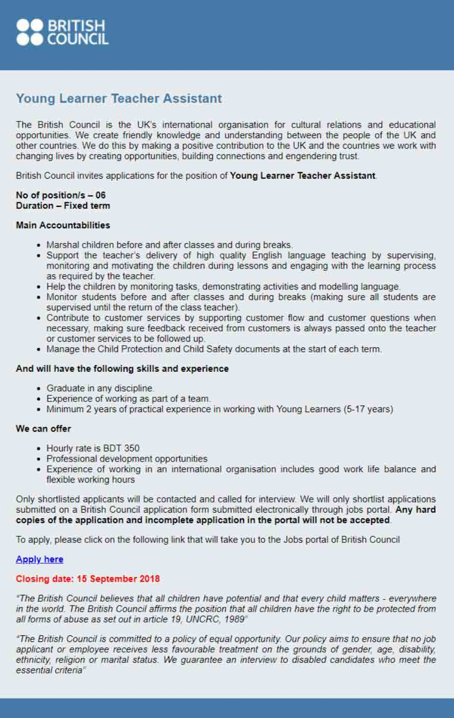 British-Council-Job-Circular-Bangladesh-2018