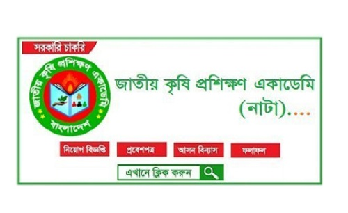 National Agriculture Training Academy (NATA) Job Circular 2021