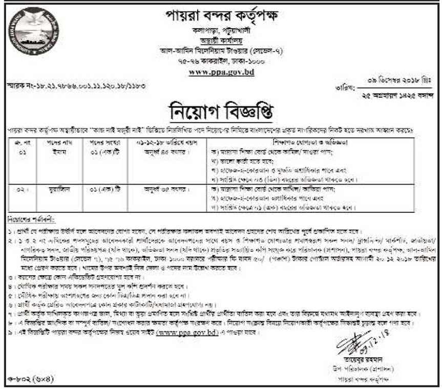 BANGLADESH SCOUTS JOB CIRCULAR 2018