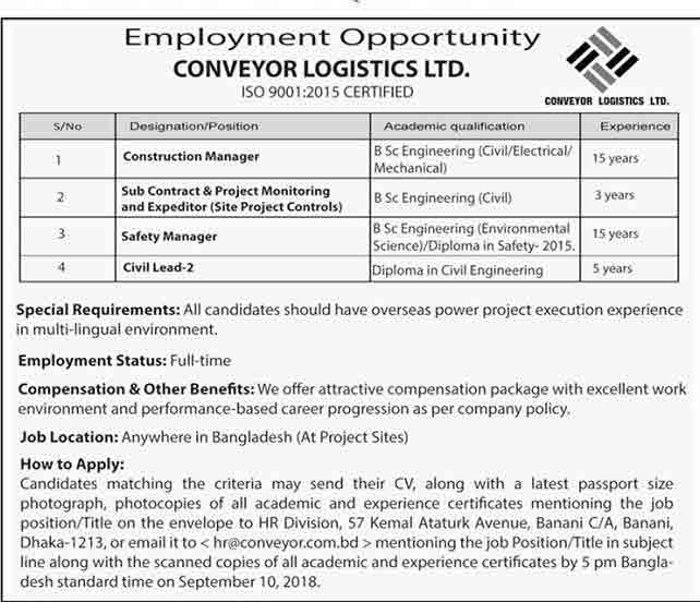 Conveyor-Group-jobs-circular-2018