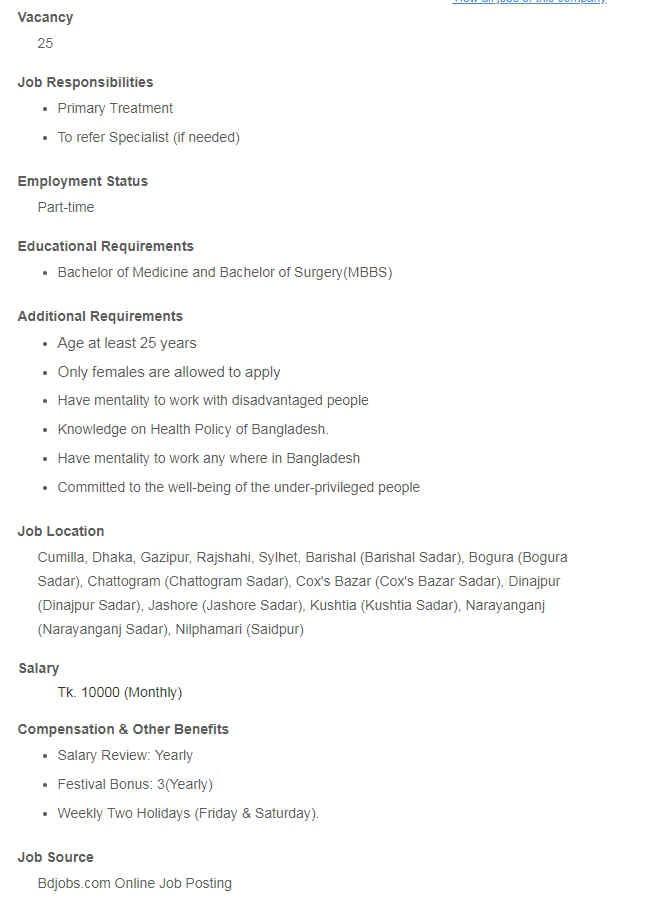 Shakti Foundation Part Time Jobs Circular Apply Procedure 2018