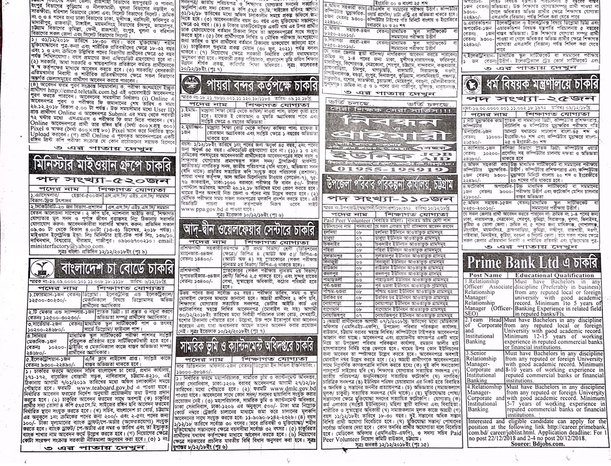 Weekly Jobs Newspaper 14 December 1