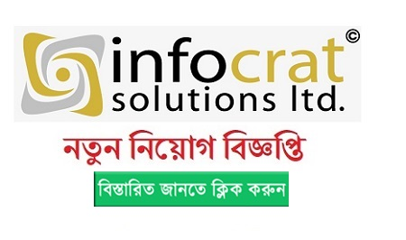 Infocrat Solutions Ltd Jobs Circular 2019