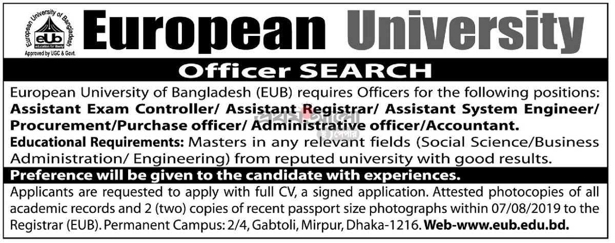 European University of Bangladesh