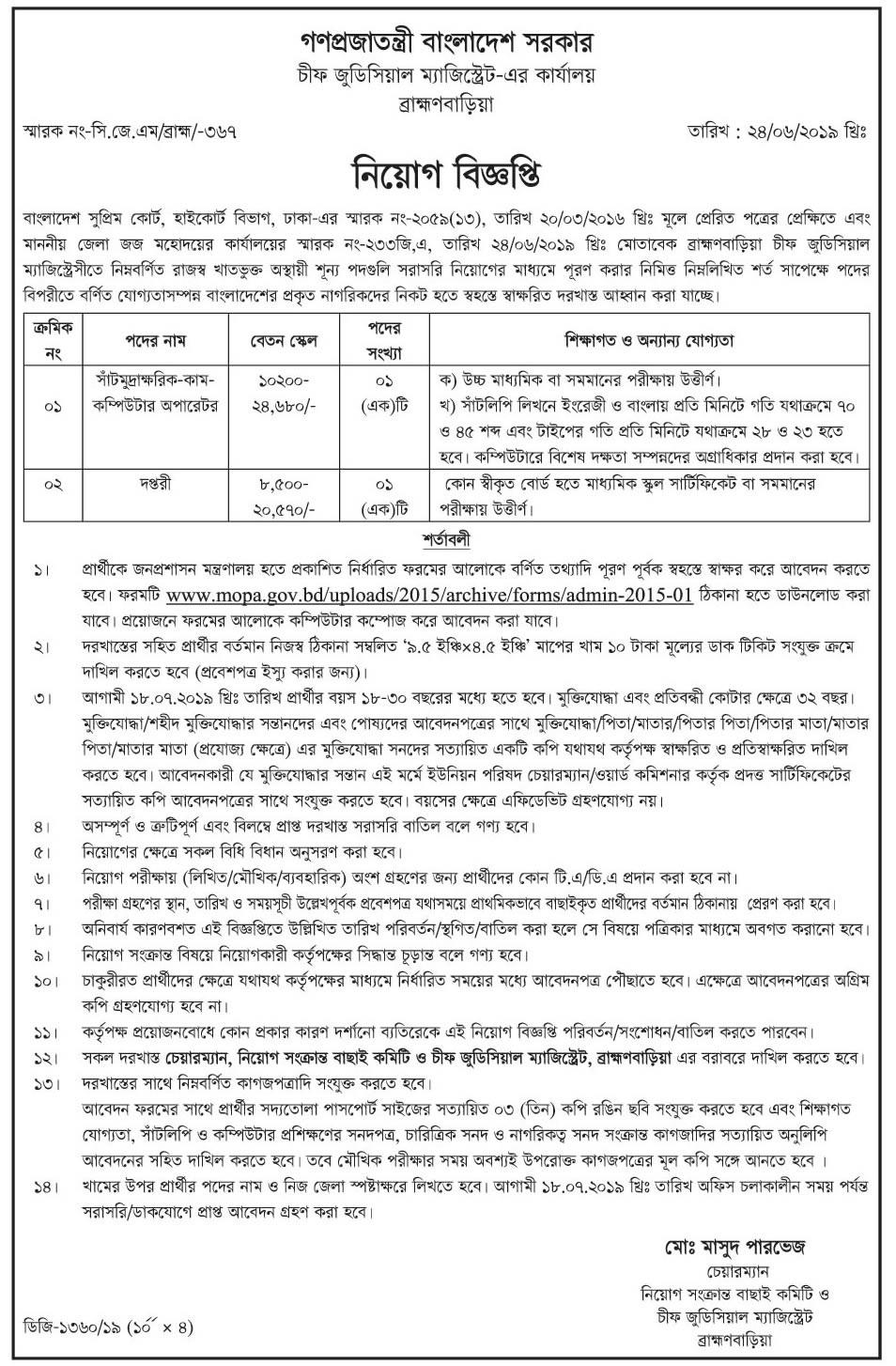 Chittagong Dry Dock Limited Job Circular 20