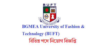 BGMEA University of Fashion & Technology Job circular