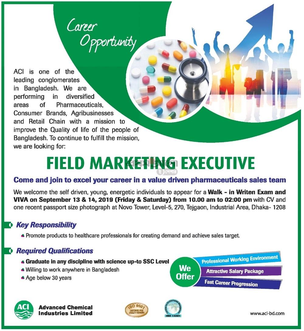 ACI Limited Job Circular 2019
