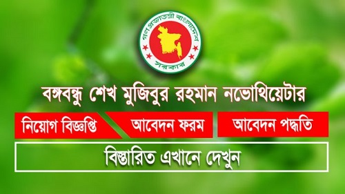 Bangabandhu Sheikh Mujibur Rahman Novo Theatre Job Circular 2019