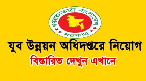 Bangladesh Youth Development Job Circular 2019