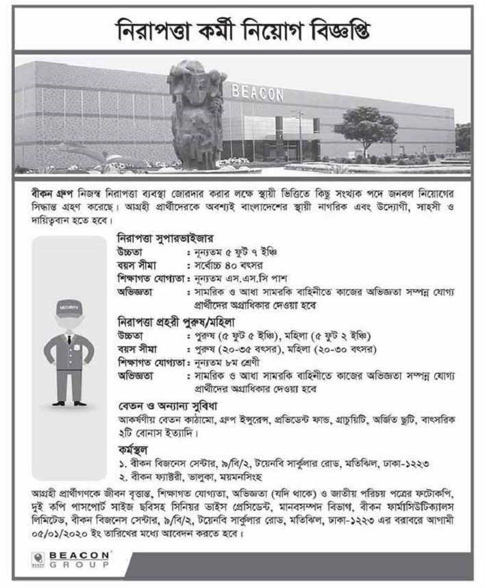 Beacon Group Job Circular 2020