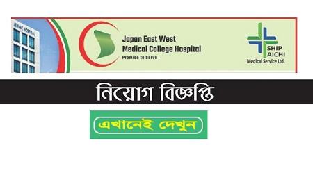 Japan East West Medical College Hospital Job Circular 2020