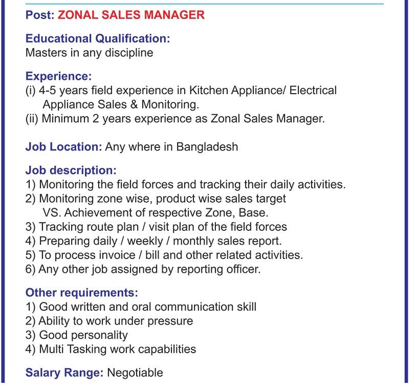 Sharif Home Appliance Job Circular 2020