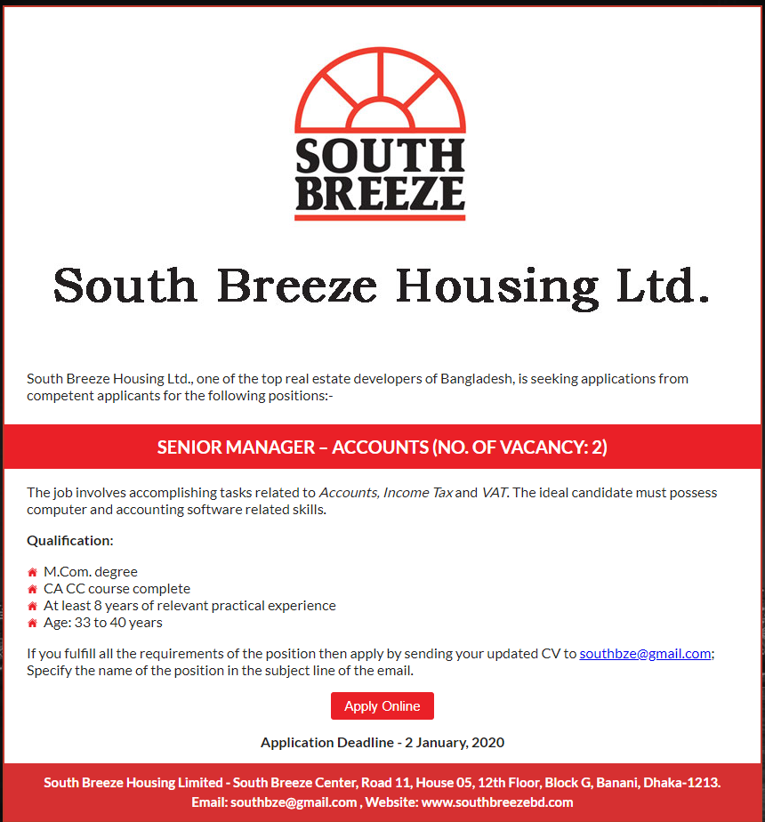 South Breeze Housing Ltd