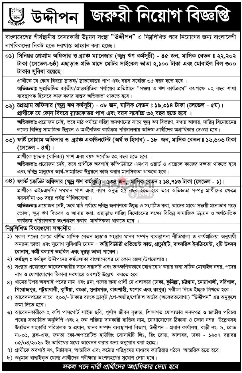 HEED Bangladesh NGO Job Circular 2020