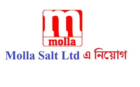 Molla Salt (Triple Refined) Industries Ltd Job Circular 2020