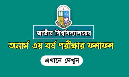 National University Honours 3rd Year