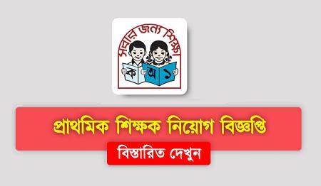 Primary School Teacher Job Circular 2020