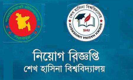 Sheikh Hasina University Job Circular 2020