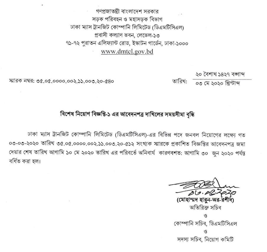 Bangladesh Railway Job Circular-2020