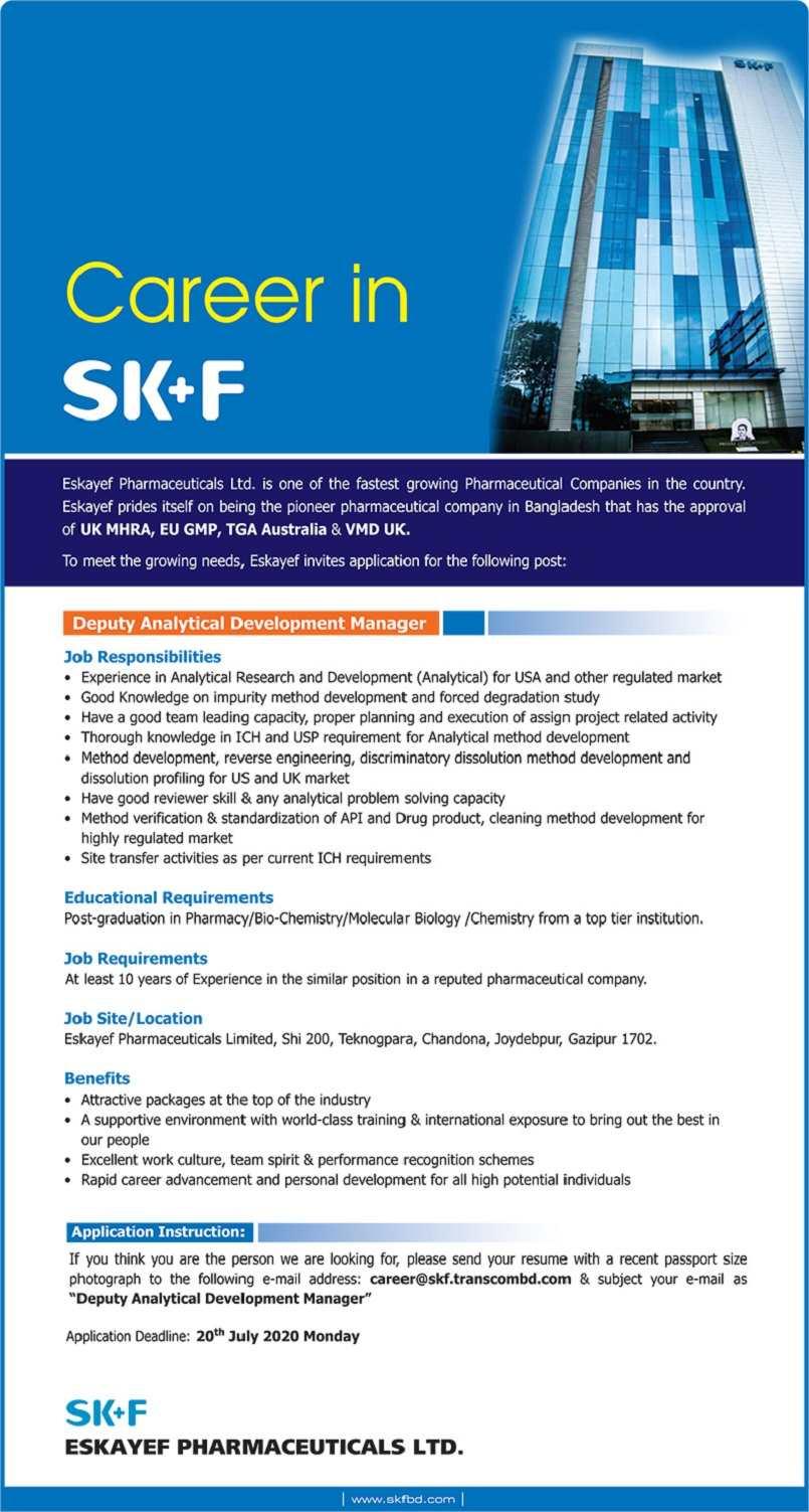 Eskayef Pharmaceuticals Limited