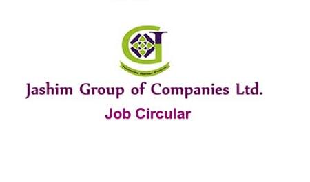 Jashim Group of Companies Ltd Job Circular 2020