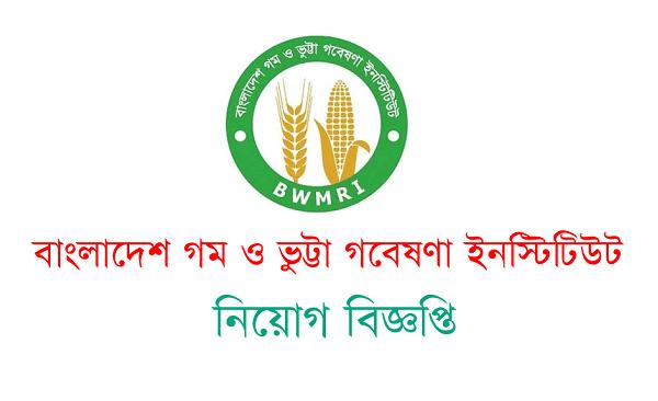 Bangladesh Wheat and Maize Research Institute (BWMRI) Job Circular 2021